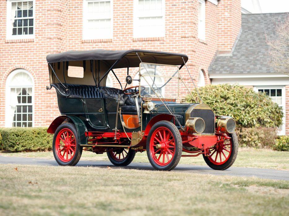 1905 Pierce Great Arrow 28-32 5-passenger Roi-Des-Belges retro     h wallpaper