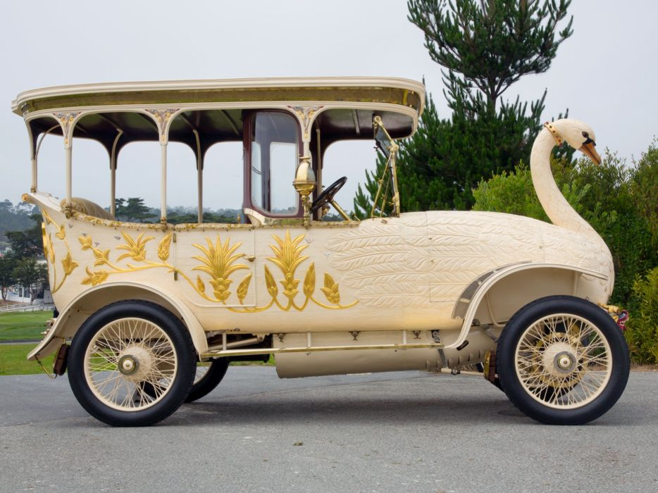 1910 Brooke 30HP Swan Car retro custom tuning        f wallpaper