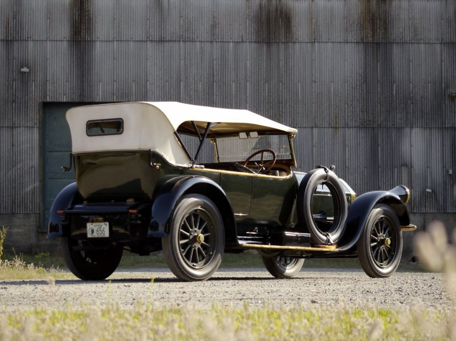 1916 Pierce Arrow Model-48 Phaeton retro luxury    g wallpaper