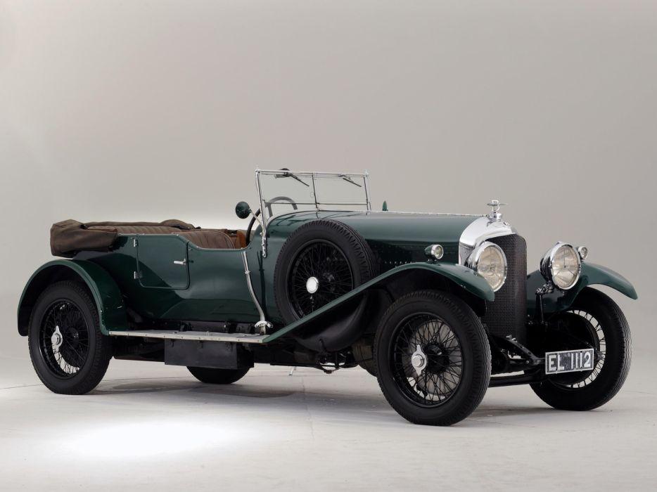 1929 Bentley Tourer Vanden Plas luxury retro  j wallpaper