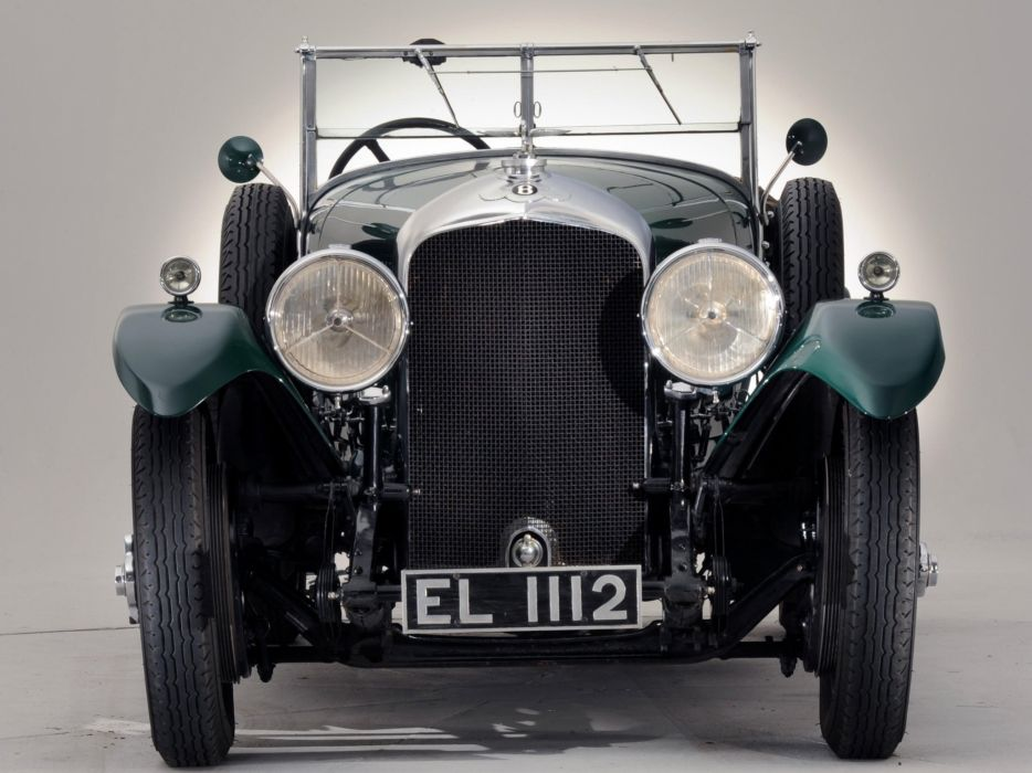 1929 Bentley Tourer Vanden Plas luxury retro   gh wallpaper