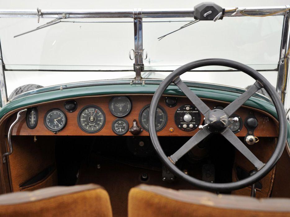 1929 Bentley Tourer Vanden Plas luxury retro interior  b wallpaper