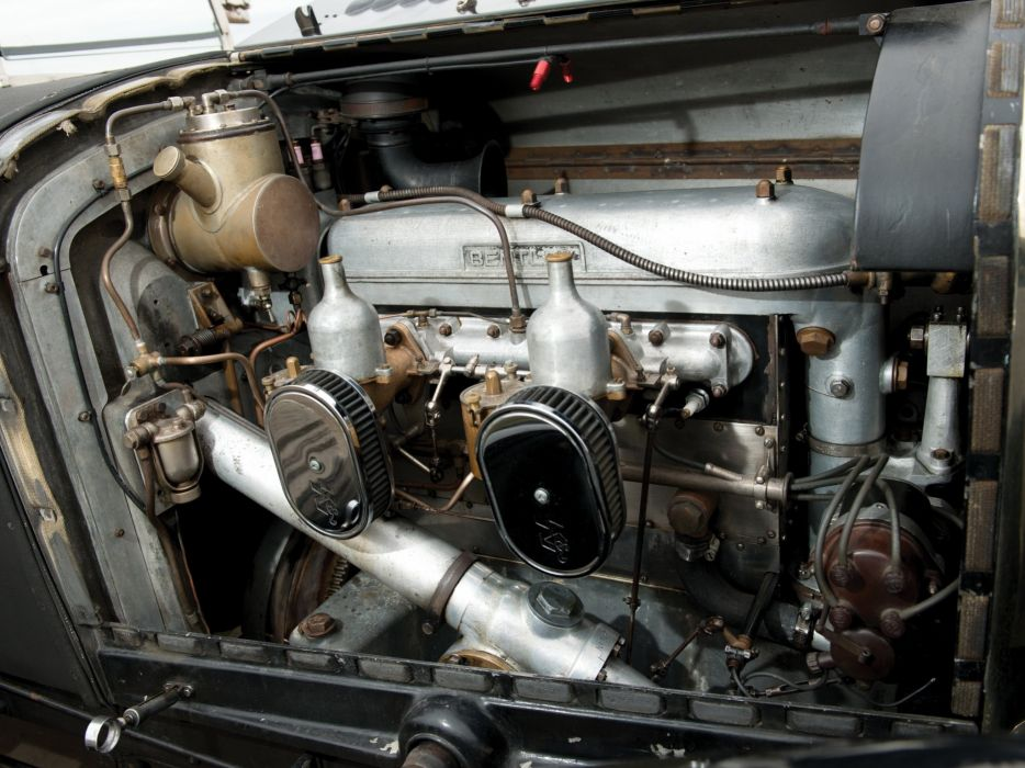 1929 Bentley Tourer Vanden Plas luxury retro engine    h wallpaper