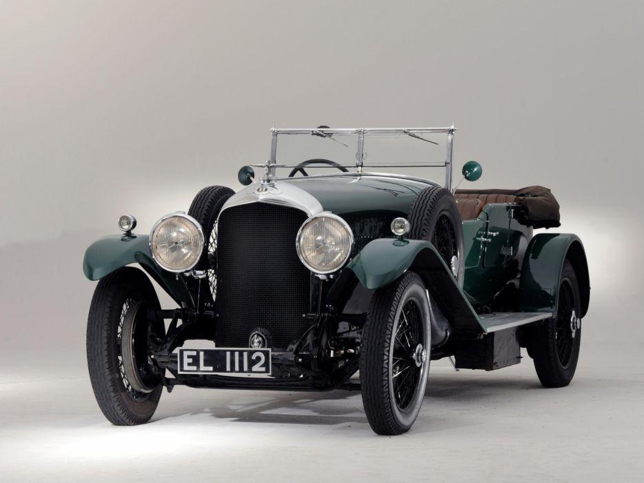 1929 Bentley Tourer Vanden Plas luxury retro   hf wallpaper