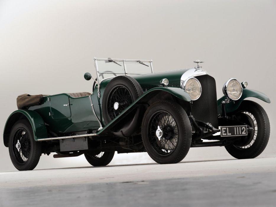 1929 Bentley Tourer Vanden Plas luxury retro    r wallpaper