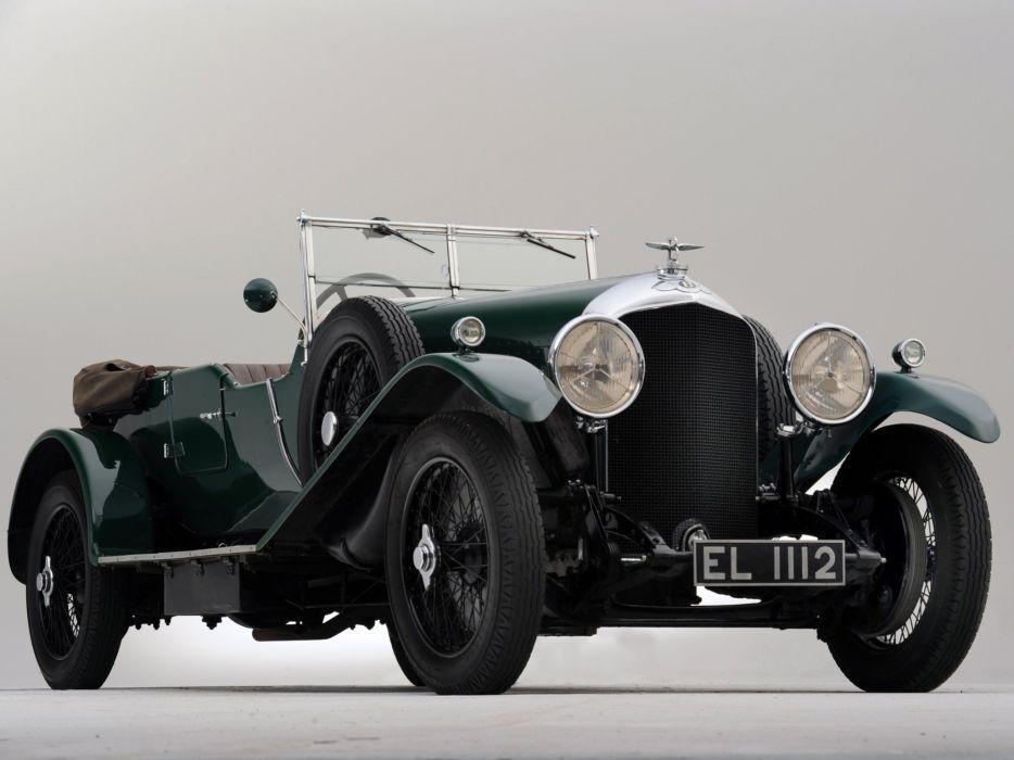 1929 Bentley Tourer Vanden Plas luxury retro    hj wallpaper