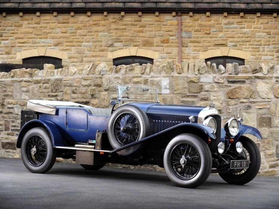 1929 Bentley Tourer Vanden Plas luxury retro       g wallpaper