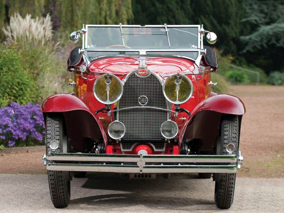 1929 Bugatti Type-40 Roadster retro  fq wallpaper
