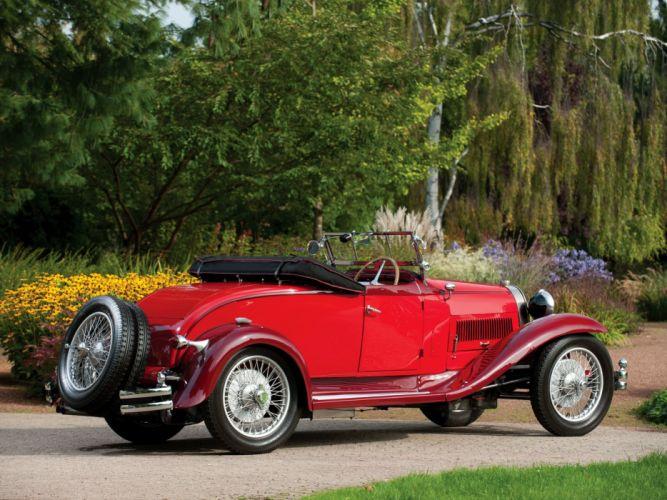 1929 Bugatti Type-40 Roadster retro gd wallpaper