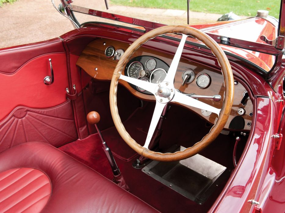 1929 Bugatti Type-40 Roadster retro interior     f wallpaper