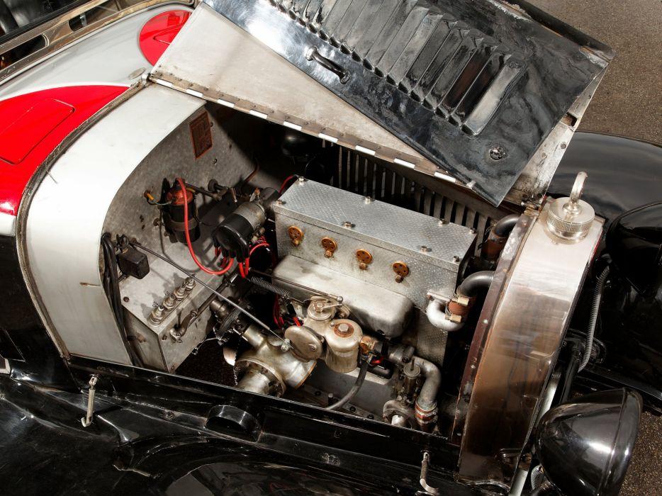 1929 Bugatti Type-40 Roadster retro engine     g wallpaper