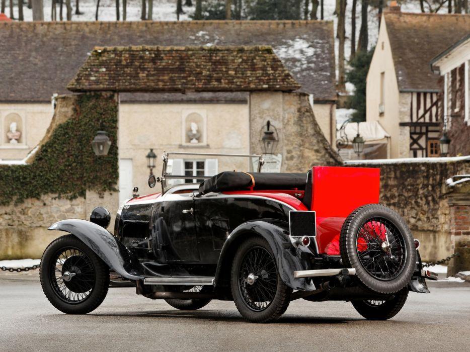 1929 Bugatti Type-40 Roadster retro  f wallpaper