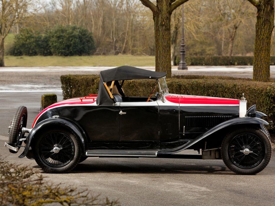1929 Bugatti Type-40 Roadster retro   fw wallpaper