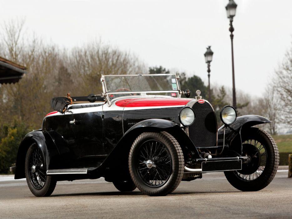 1929 Bugatti Type-40 Roadster retro       hj wallpaper