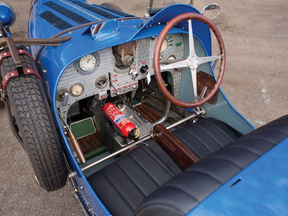 1930 Bugatti Type 37A retro race racing interior   d wallpaper