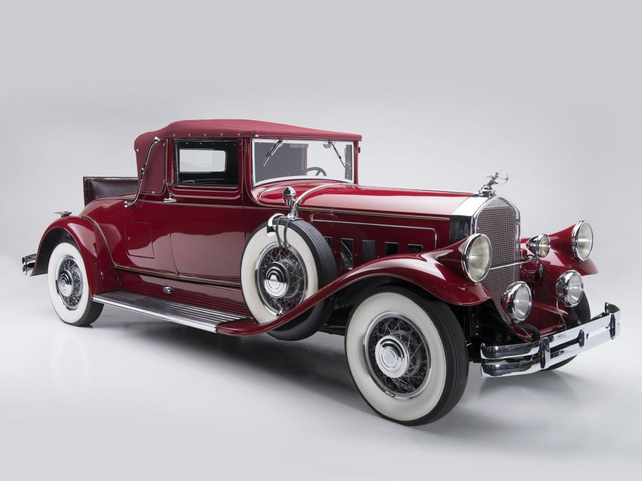 1930 Pierce Arrow Model-A Convertible Coupe retro luxury b wallpaper