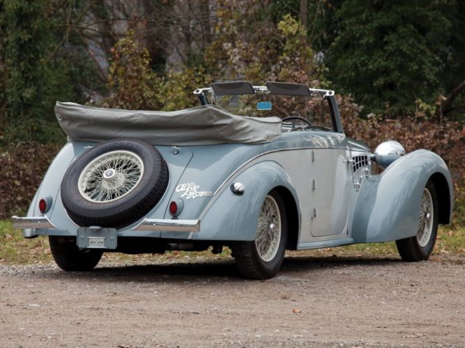 1939 Alfa Romeo 6-C 2500 Cabriolet Gebruder Tuscher (913014) retro t wallpaper
