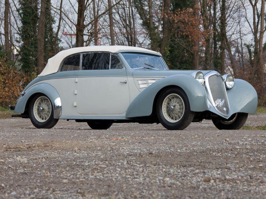 1939 Alfa Romeo 6-C 2500 Cabriolet Gebruder Tuscher (913014) retro   y wallpaper