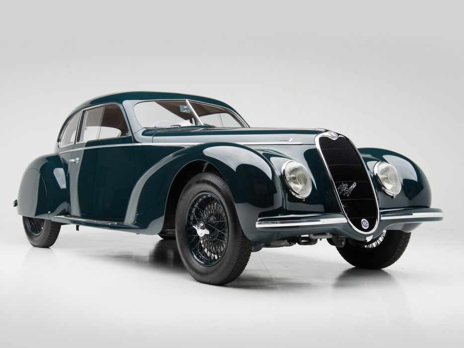 1939 Alfa Romeo 6-C 2500 S Berlinetta retro touring   f wallpaper
