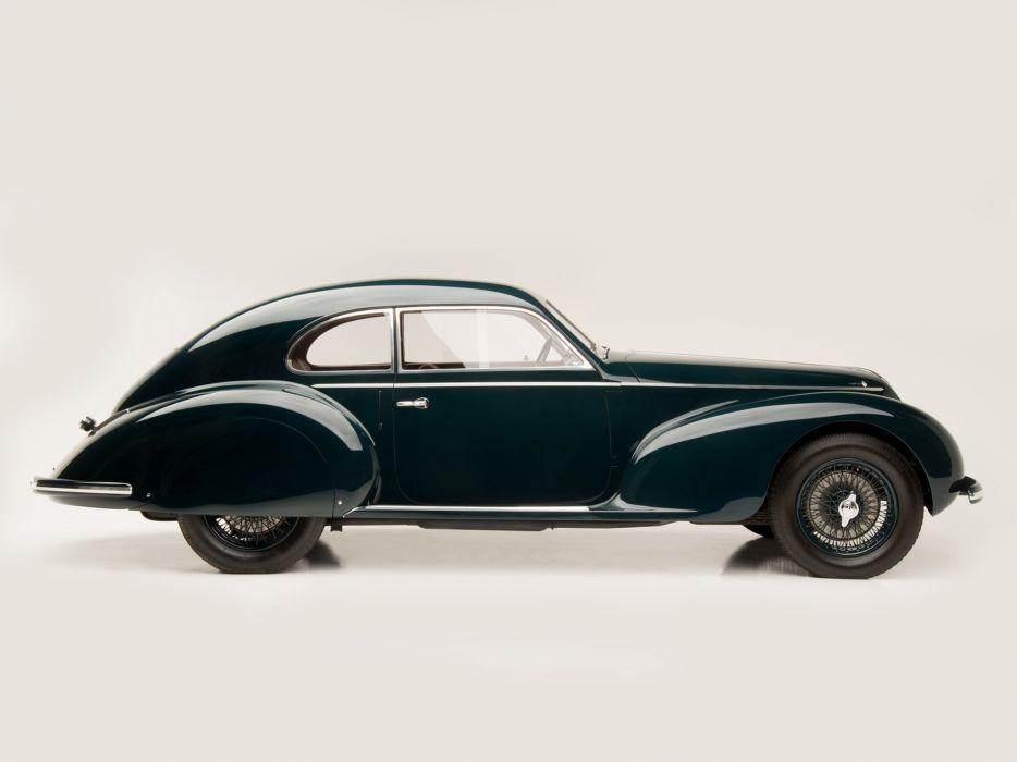 1939 Alfa Romeo 6-C 2500 S Berlinetta retro touring  d wallpaper