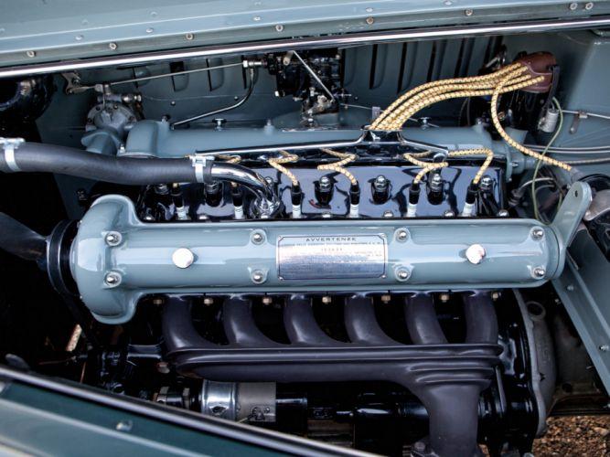 1939 Alfa Romeo 6-C 2500 S Berlinetta retro touring engine g wallpaper