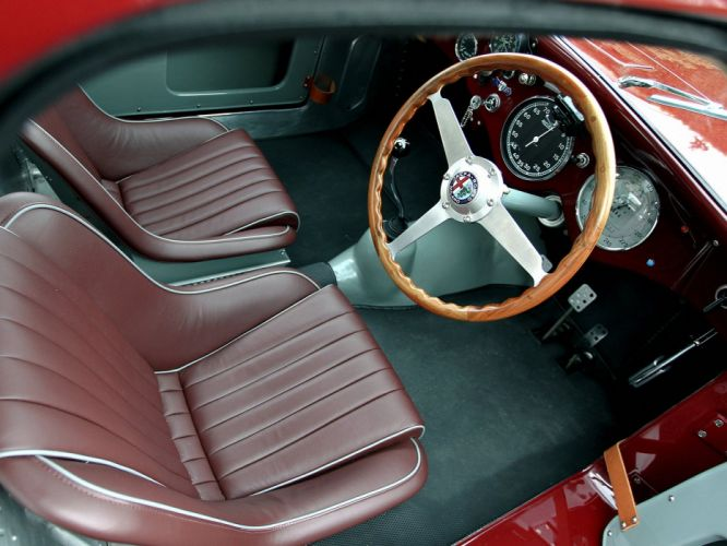1948 Alfa Romeo 6-C 2500 Competizione retro race racing interior h wallpaper