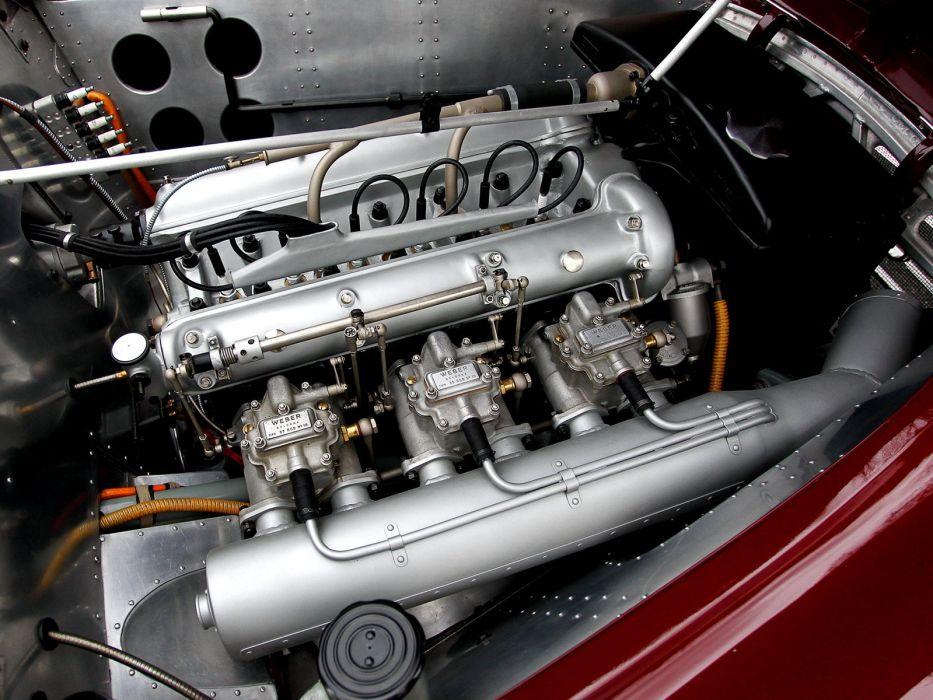 1948 Alfa Romeo 6-C 2500 Competizione retro race racing engine    n wallpaper