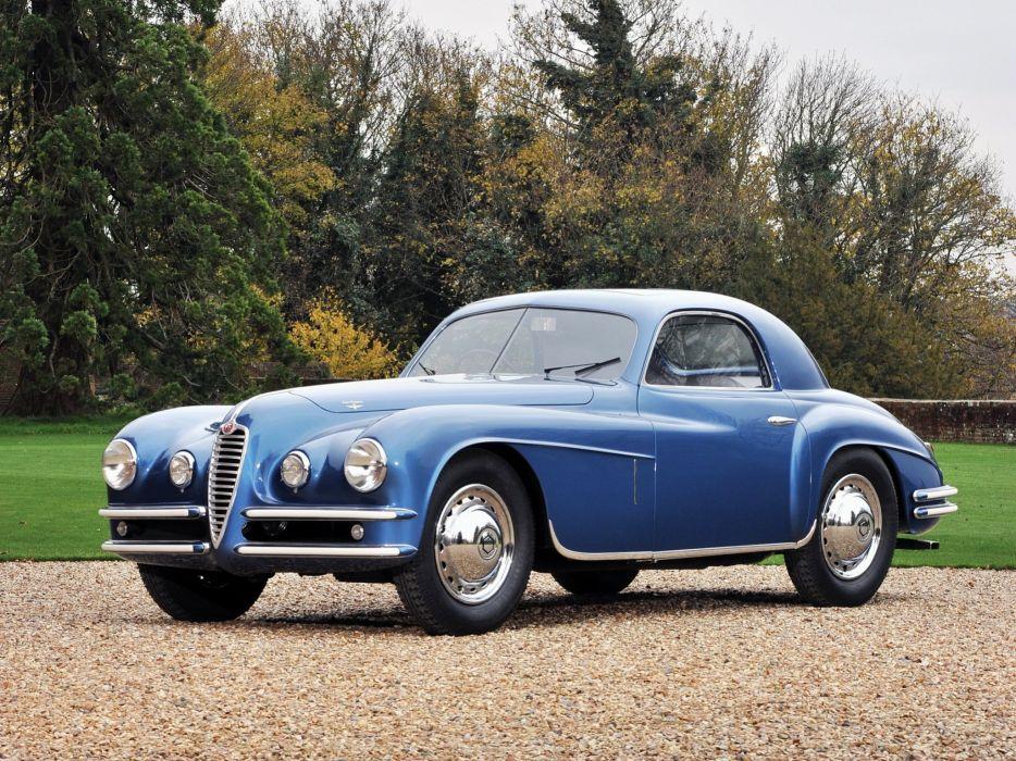 1948 Alfa Romeo 6-C 2500 S-S Coupe retro  f wallpaper
