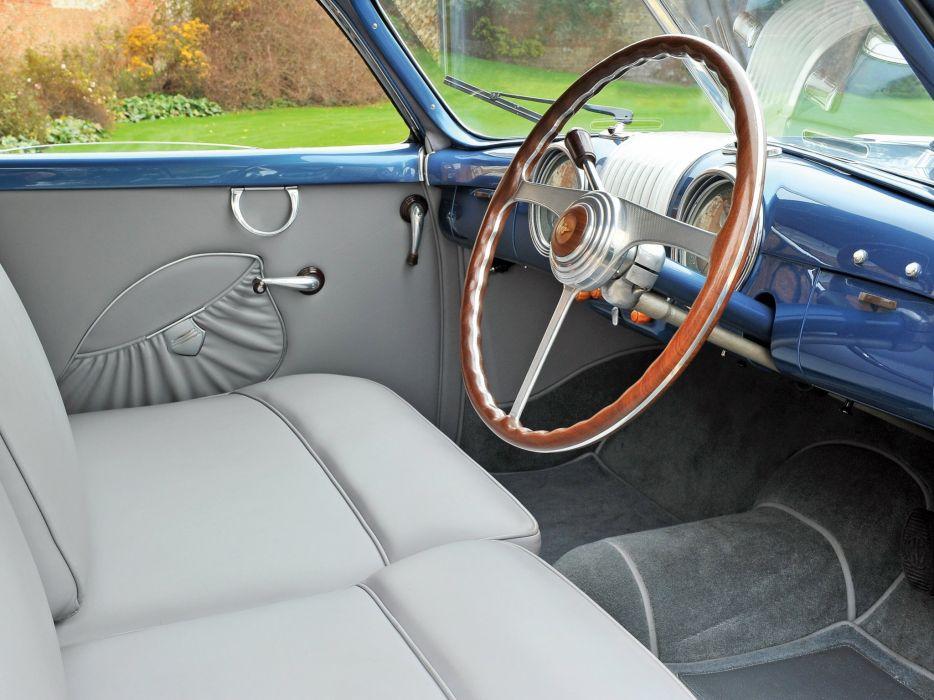 1948 Alfa Romeo 6-C 2500 S-S Coupe retro interior     g wallpaper