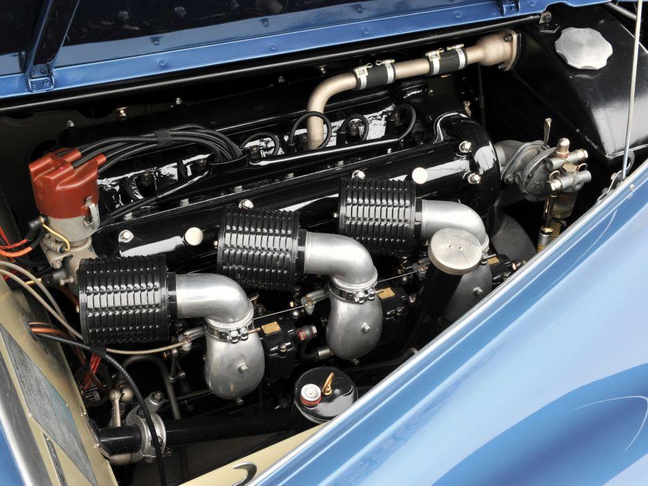 1948 Alfa Romeo 6-C 2500 S-S Coupe retro engine    g wallpaper