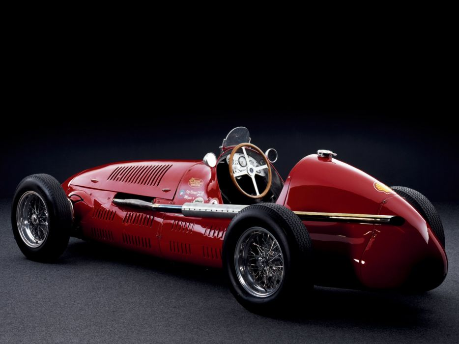 1949 Maserati 4CLT formula f-1 race racing retro  gs wallpaper