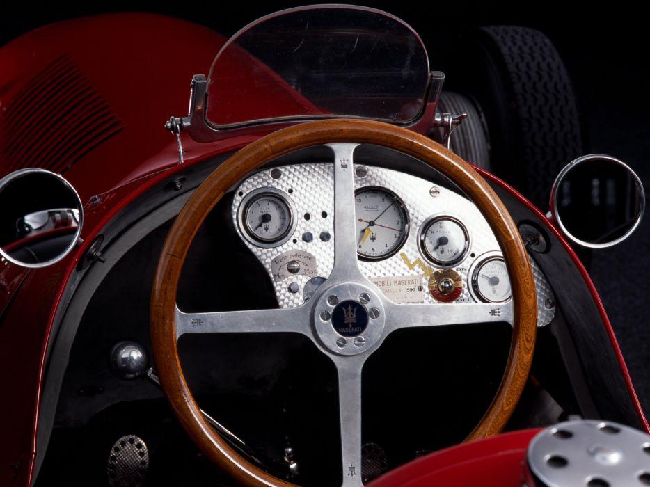 1949 Maserati 4CLT formula f-1 race racing retro interior     g wallpaper