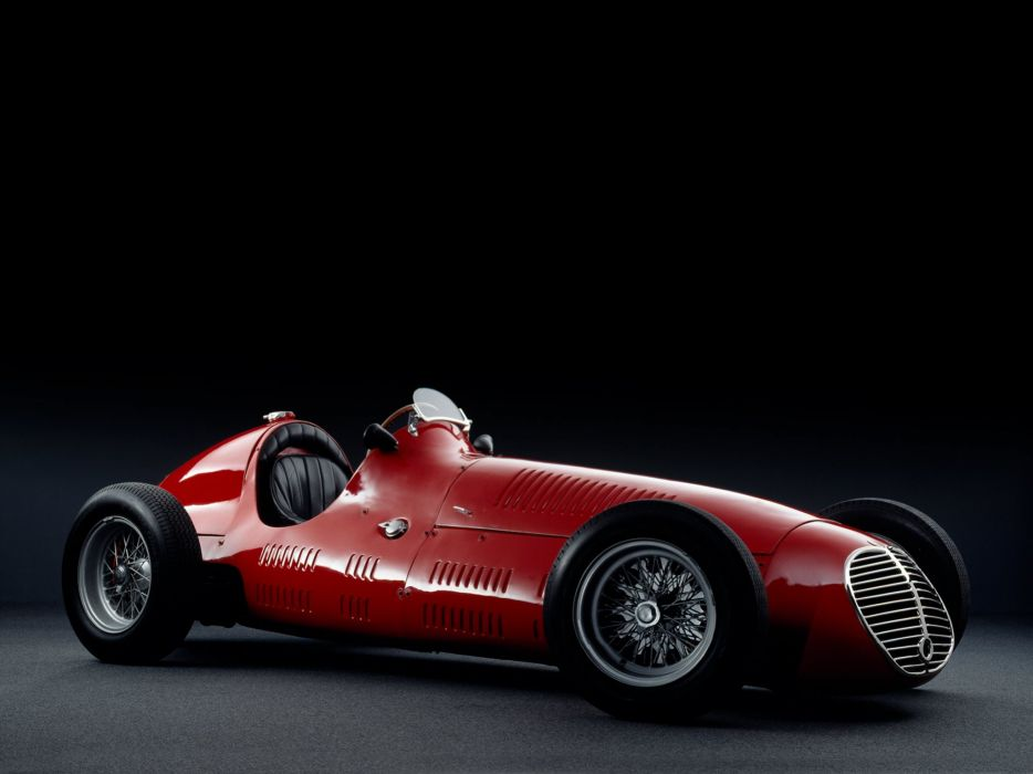 1949 Maserati 4CLT formula f-1 race racing retro   r wallpaper