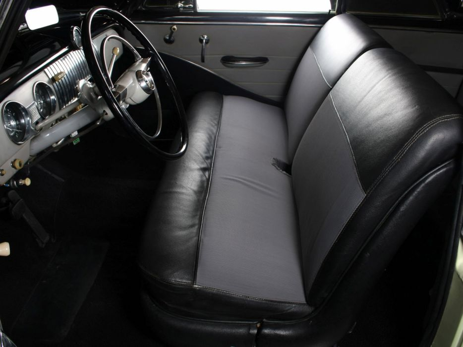 1952 Chevrolet Deluxe Styleline Bel Air (2154-1037) retro luxury interior     h wallpaper