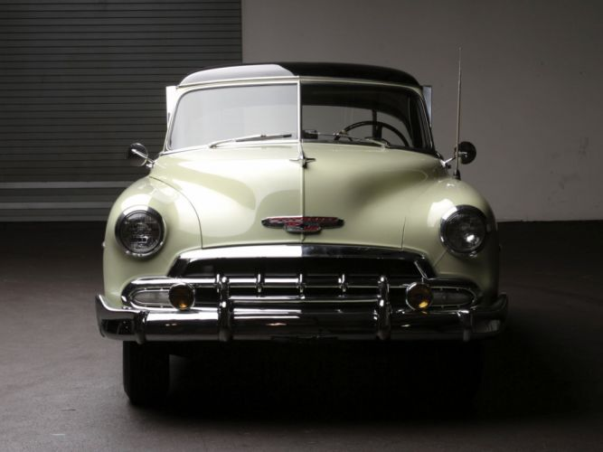 1952 Chevrolet Deluxe Styleline Bel Air (2154-1037) retro luxury g wallpaper