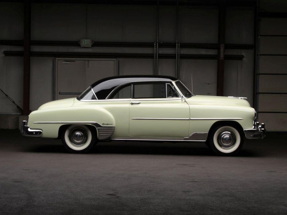1952 Chevrolet Deluxe Styleline Bel Air (2154-1037) retro luxury       h wallpaper