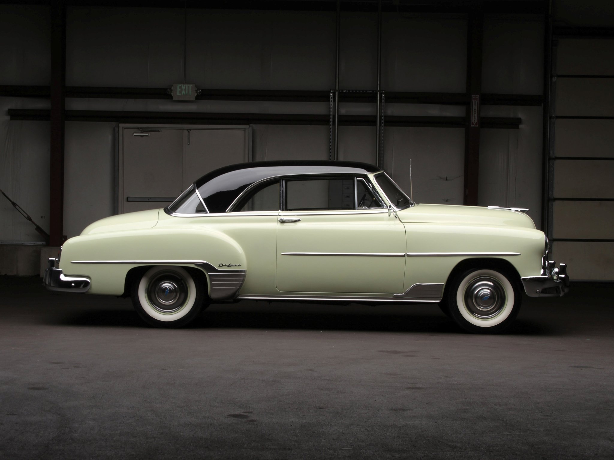 1953 Chevrolet DeLuxe 210 Sport Coupe (B-2154-1037) retro (7 ...