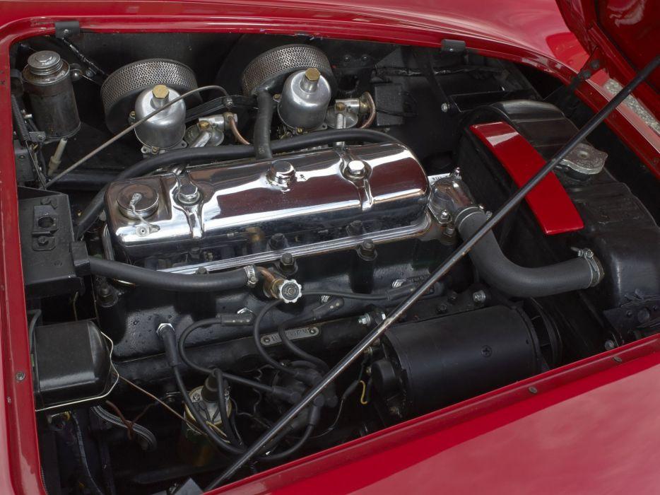 1955 Austin Healey 100-4 (BN2) retro engine     h wallpaper