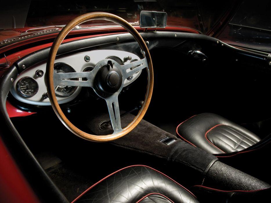 1955 Austin Healey 100-4 (BN2) retro interior  d wallpaper