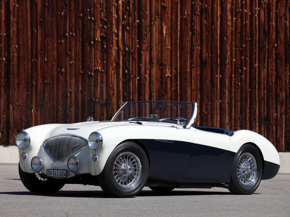 1955 Austin Healey 100-4 (BN2) retro  f wallpaper