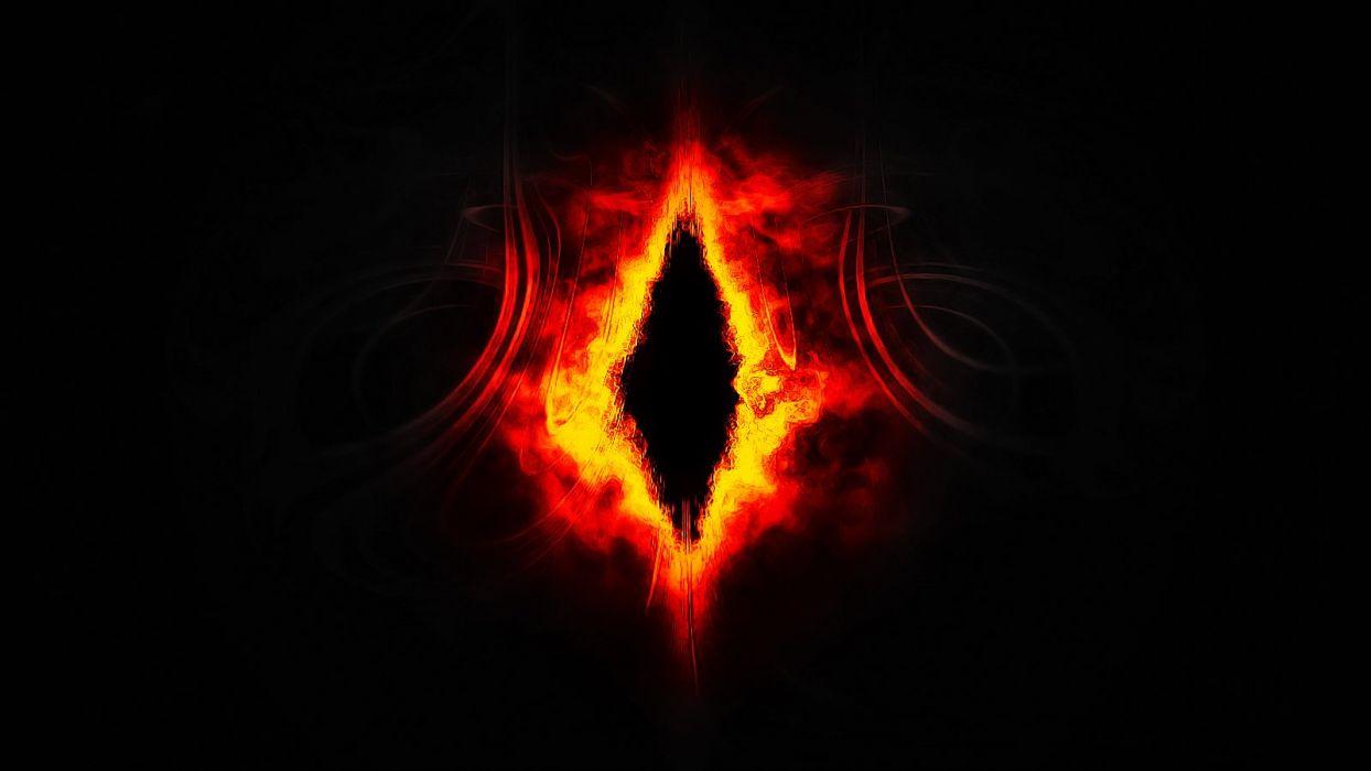 eye of fire wallpaper