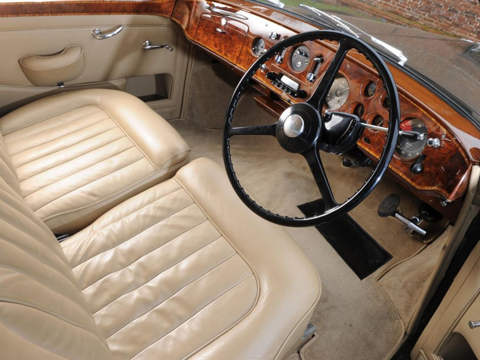 1955-59 Bentley S-1 Continental Sports Saloon Mulliner luxury retro interior    f wallpaper