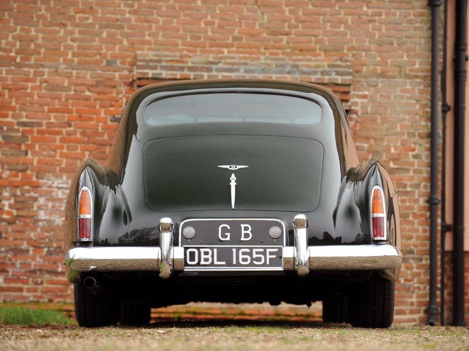 1955-59 Bentley S-1 Continental Sports Saloon Mulliner luxury retro  fs wallpaper