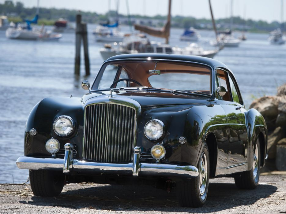 1955-59 Bentley S-1 Continental Sports Saloon Mulliner luxury retro   h wallpaper