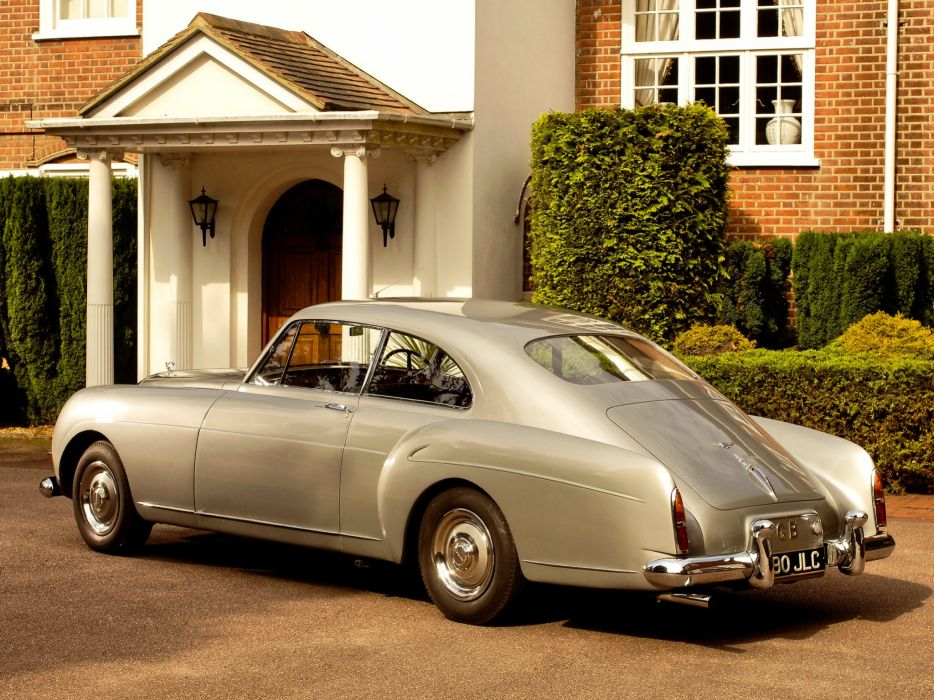 1955-59 Bentley S-1 Continental Sports Saloon Mulliner luxury retro   v wallpaper