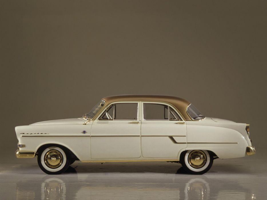 1956 Opel Kapitan retro       b wallpaper