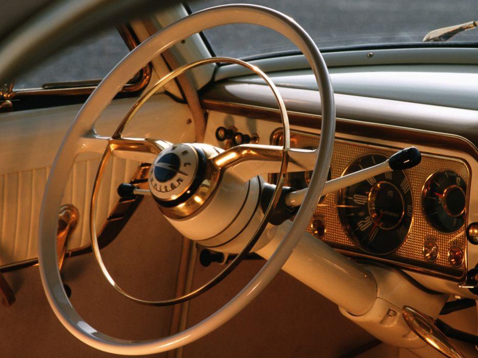 1956 Opel Kapitan retro interior      g wallpaper