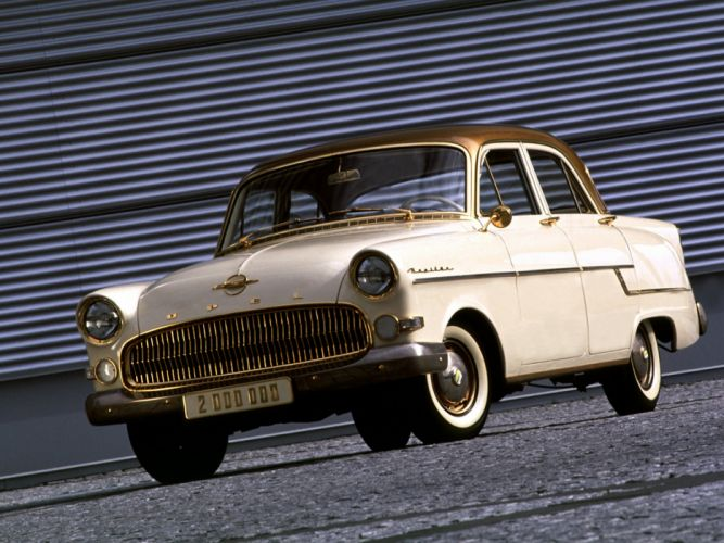 1956 Opel Kapitan retro f wallpaper