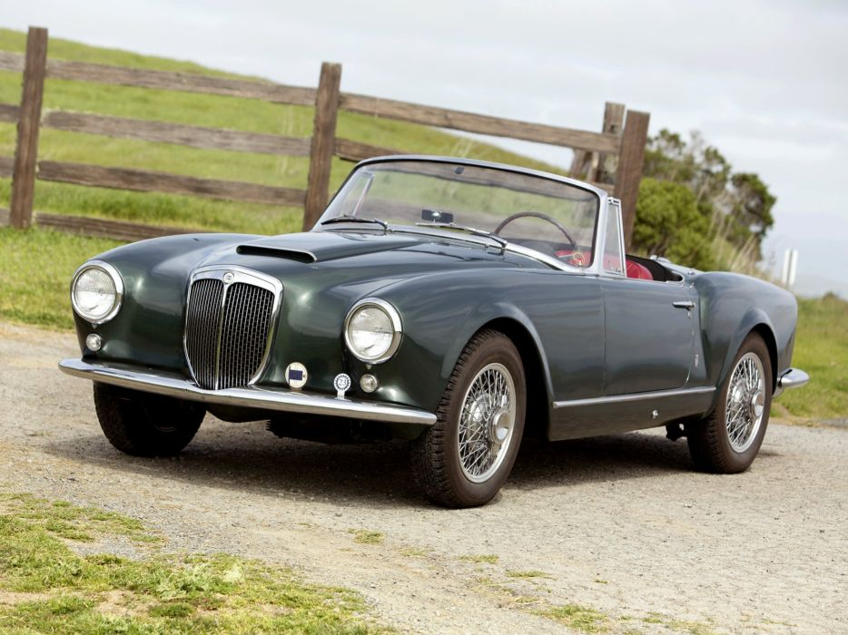 1956-58 Lancia Aurelia G-T Convertible (B24) retro   g wallpaper