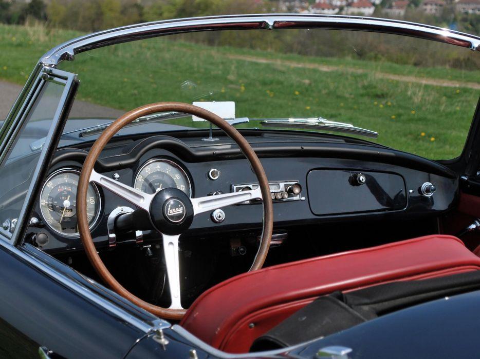 1956-58 Lancia Aurelia G-T Convertible (B24) retro interior   g wallpaper